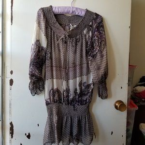 Costa Blanca Multi-Colored Patterned Top Size M